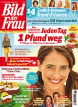 Zeitschrift Bild der Frau